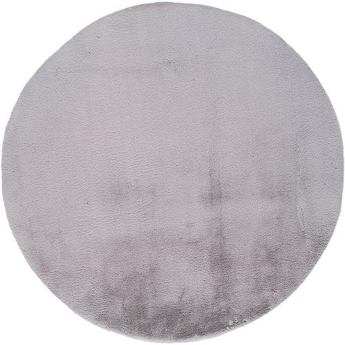 Alfombra fox plata ø120 cm