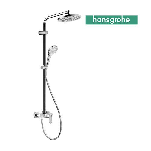 Columna de ducha monomando hansgrohe lmh s240 gris cromado