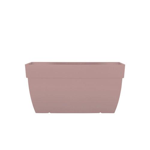 Lote jardinera y plato xl capri taupe 80 cm