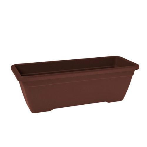 Lote jardinera y plato venezia bronce 40 cm