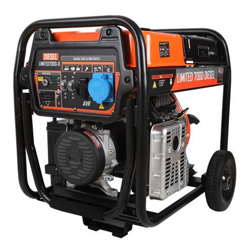Generador diesel limites 7000d