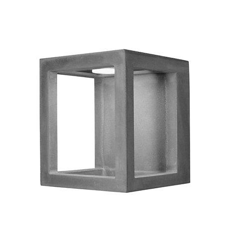 Aplique exterior de cemento forlight box led inegrado