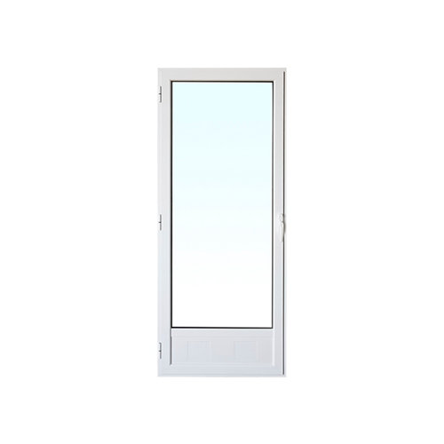 Balconera aluminio practicable artens izda 80x210 cm rejilla
