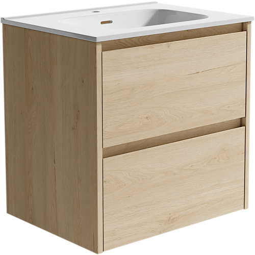 Mueble de baño moon roble 60 x 48 cm