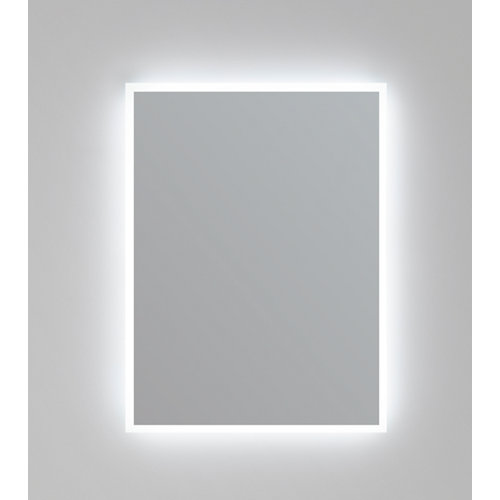 Espejo de baño con luz led eclipse 80 x 80 cm