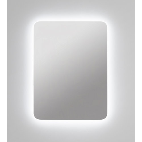 Espejo de baño con luz led zania 60 x 80 cm
