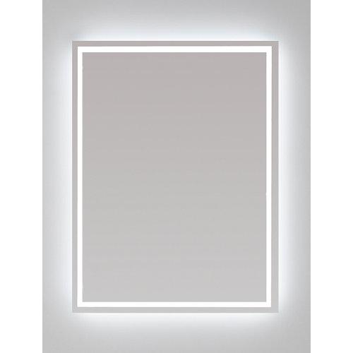 Espejo de baño con luz led nashira 80 x 80 cm