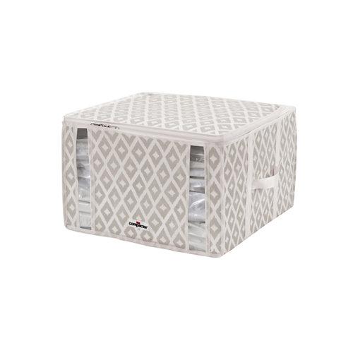Funda ahorra espacio compactor daman beige 42x40xh.25cm (125 liters)