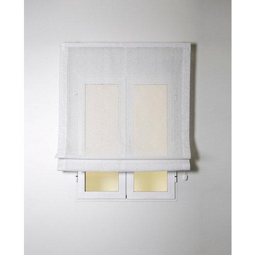 Estor plegable bolonia blanco 220x175 cm