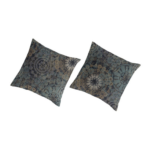 Cuadrante cojín guy laroche eider negro 2 unid 65 x 65 cm