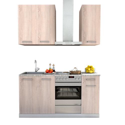 Cocina en kit delinia id arizona mate 180cm con muebles altos y bajos