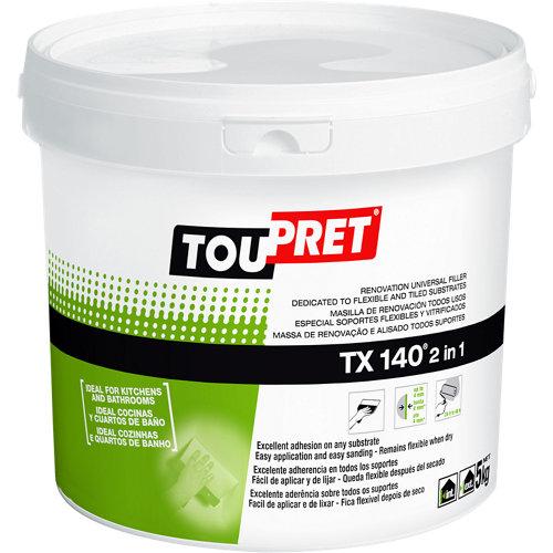 Plaste en pasta exterior toupret tx-140 5 kg