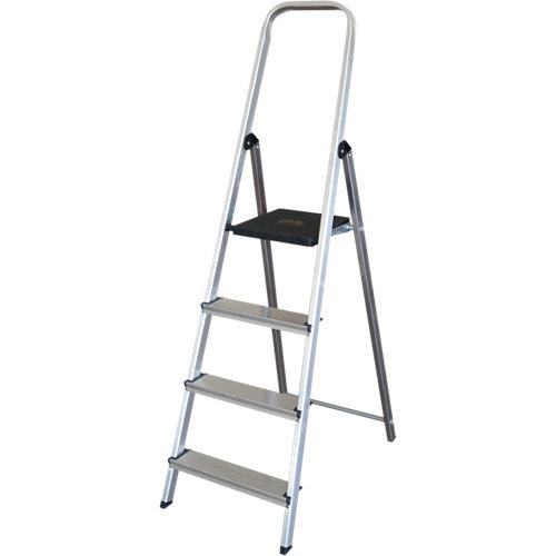 Escalera de aluminio 4 peldaños