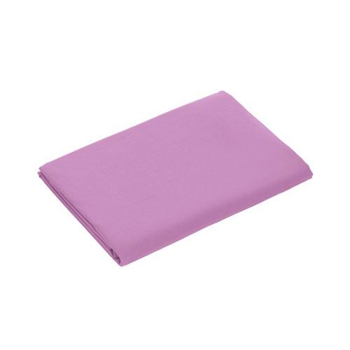 Funda nórdica open 145 hilos color malva cama de 90 cm