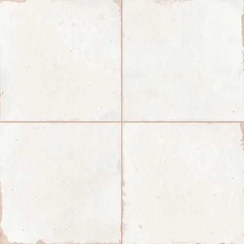 Baldosa Porcelánico Styles 45.2x45.2 Cm Blanco Interior / Exterior