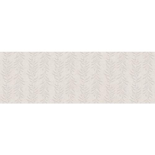 Azulejo cerámico serena 30x90 liana blanco relieve artens