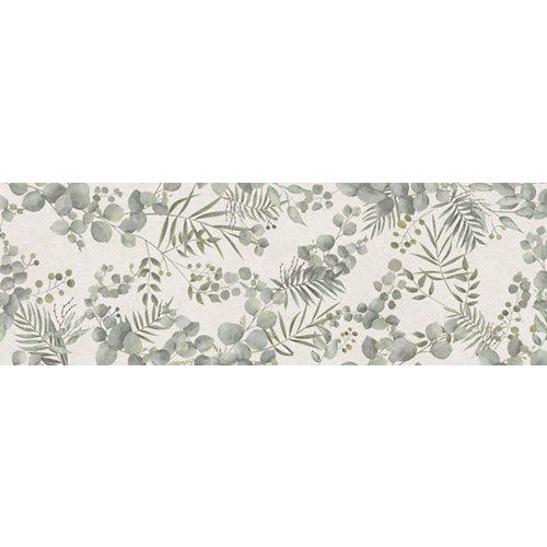 Azulejo cerámico serena 30x90 botanic decorado artens