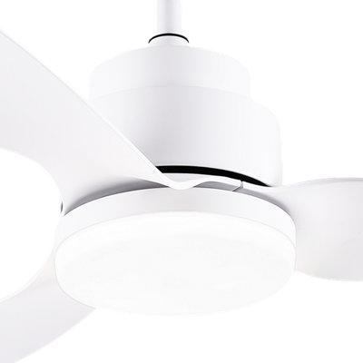Ventilador de techo LED Crixus SULION de 97 cm DC · LEROY MERLIN