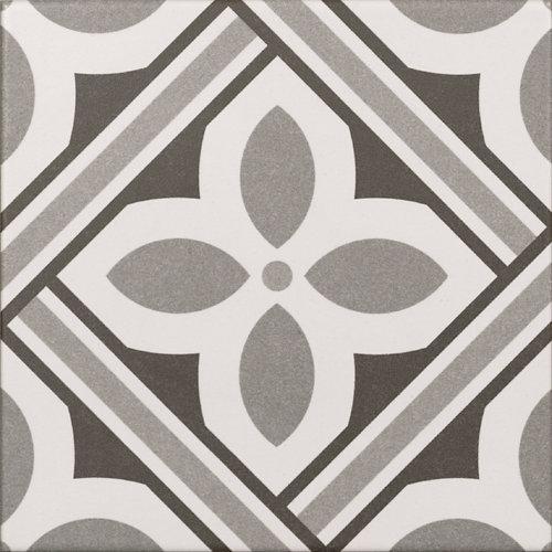 Revestimiento cerámico serie atenea 20x20 cm gris