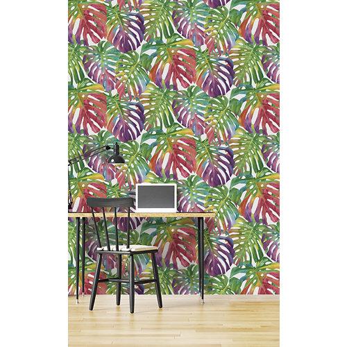 Papel pintado tnt tropical saphira w-04 multi para 6,8 m2