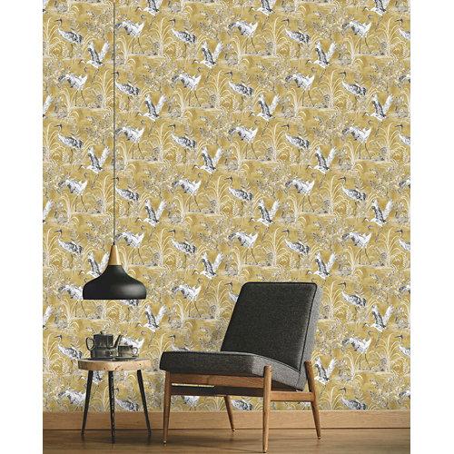 Papel pintado tnt clasic nikita w-08 amarillo para 6,08 m2