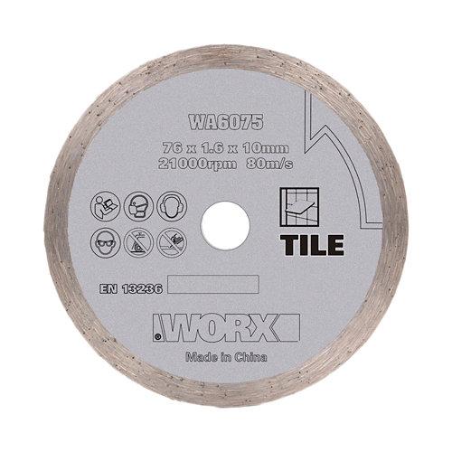 Disco corte diamante miniamoladora 76mm