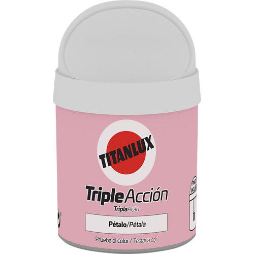 Pintura tester triple acción titanlux 75ml pétalo