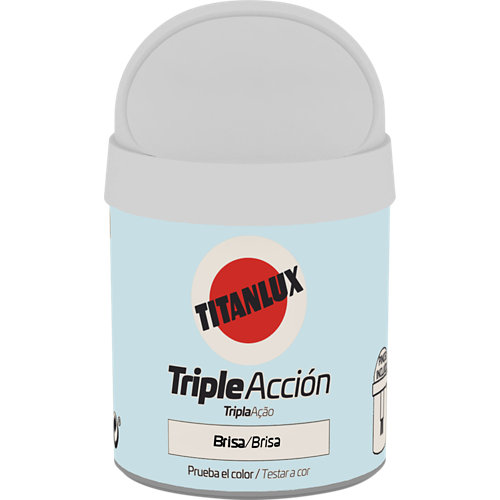 Pintura tester triple acción titanlux 75ml brisa