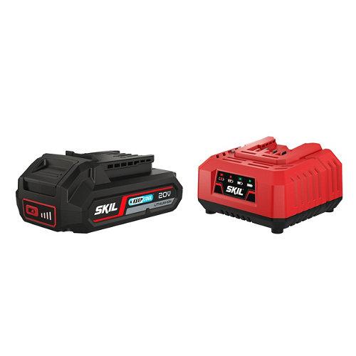 Skil 3110 aa conjunto cargador 18v - bateria 2.5ah
