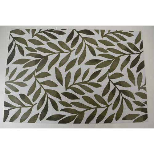 Alfombra de interior verde pvc hakuna rama verde 180 x 120cm