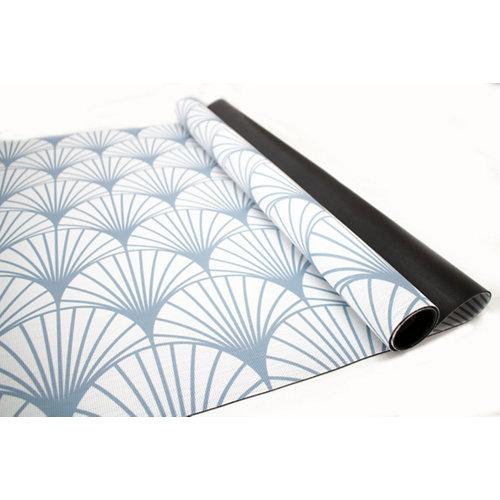 Alfombra de interior y de exterior color geométrico pvc 230cm x 160cm