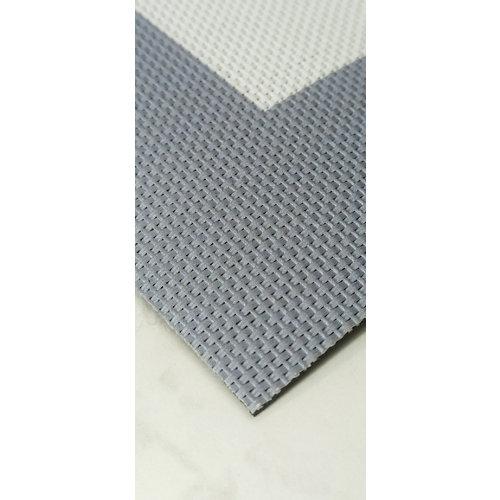 Alfombra de interior y de exterior color geométrico pvc 180cm x 120cm
