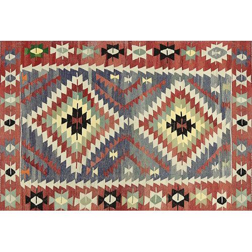 Alfombra vinilo kilim multicolor 2574 du-01 155 x 230 cm