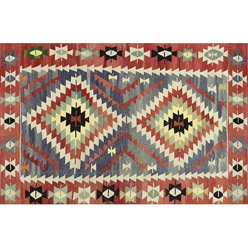 Alfombra vinilo kilim multicolor 2574 du-01 78 x 120 cm