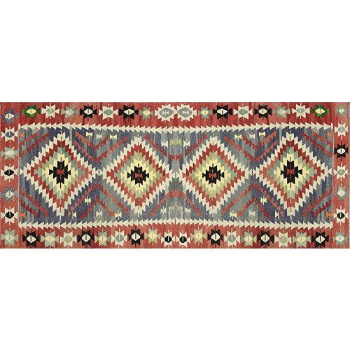 Alfombra vinilo kilim multicolor 2574 du-01 78 x 180 cm