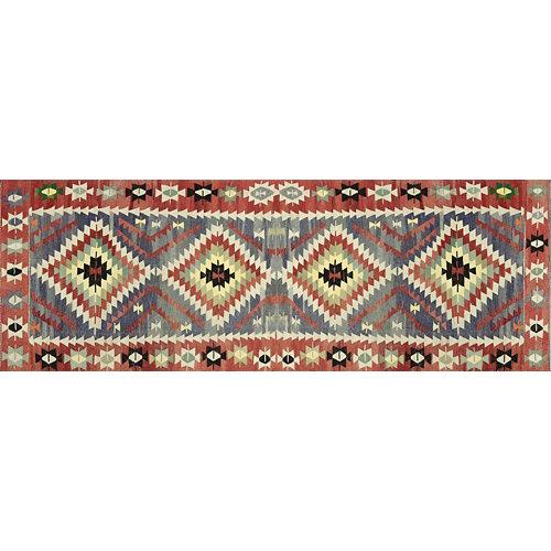 Alfombra vinilo kilim multicolor 2574 du-01 78 x 225cm