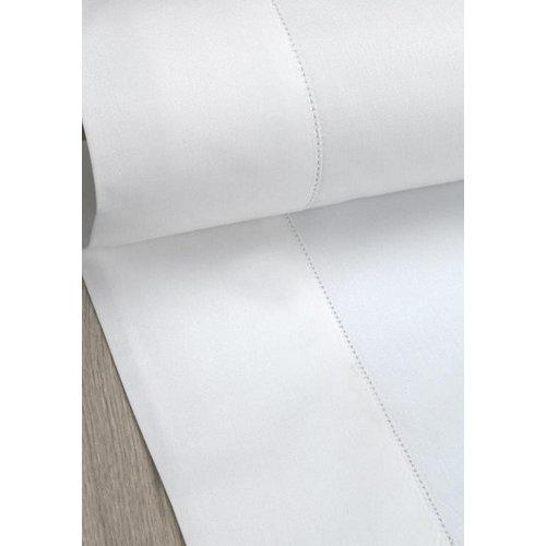 Sábana bajera algodón blanco para cama 180 / 200 cm