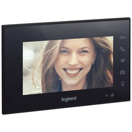 """Monitor para videoportero con wifi 7"""" legrand negro"""