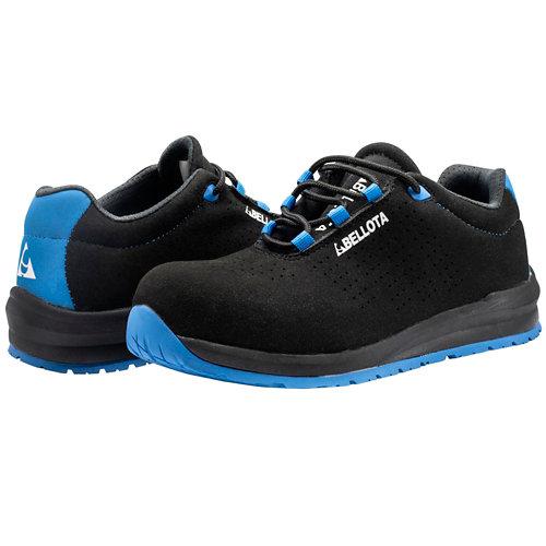 Zapato industry para trabajos en interior bellota t43 negro