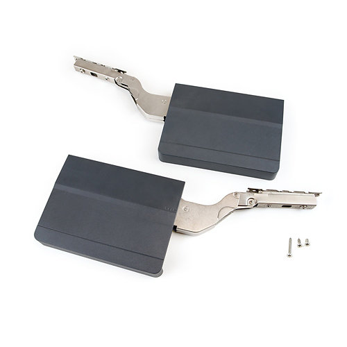 Compás puerta elevable fuerza 3200-9000 gris antracita