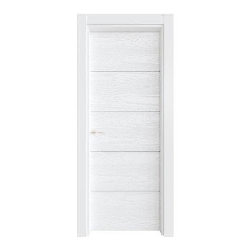 Puerta ciega lucerna premium blanca i 9x82,5 cm