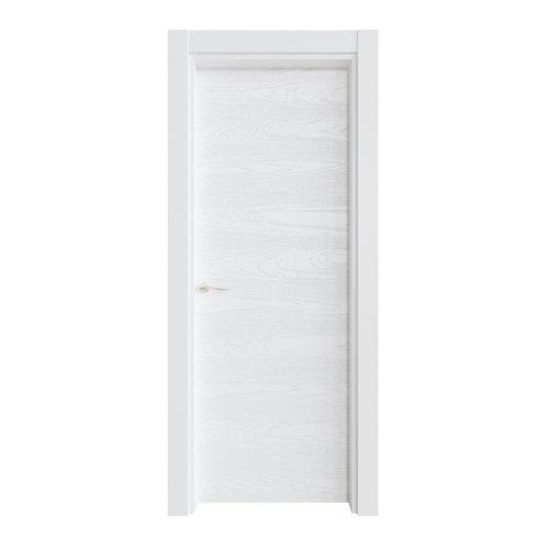 Puerta ciega bari premium blanco i 7x82,5 cm