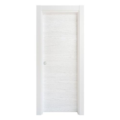 Puerta corredera bari premium blanco 62,5 cm