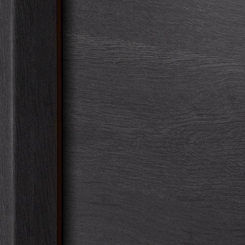 Puerta acristalada oslo azabache i 9x62,5 cm