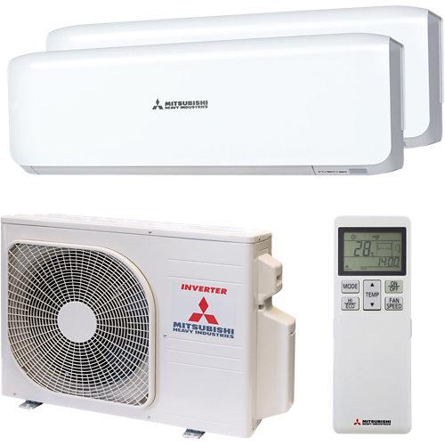 Aire acondicionado 2x1 mitsubishi 45zm06w 3000+3000 fg