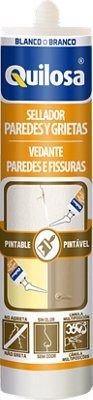 Sellador paredes y grietas 290 ml blanco