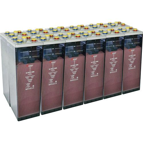 Bateria u-power opzs 1000 24v estacionaria