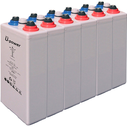 Bateria u-power opzv 300 12v estacionaria gel