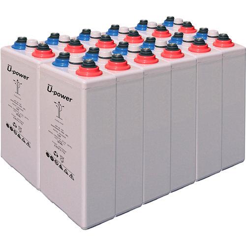 Bateria u-power opzv 300 24v estacionaria gel