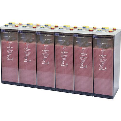 Bateria u-power opzs 1200 12v estacionaria
